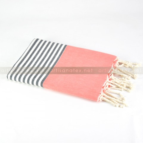 fouta_kiwi_orange_0_artisanatex_tunisia