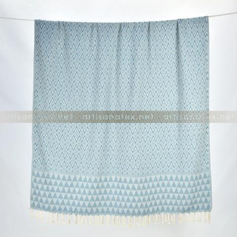 Fouta_Trilos_BagodaBlue_1_artisanatex_tunisia_craft_textile