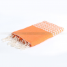 fouta_zigzag_orange_artisanatex