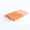 fouta_zigzag_orange_artisanatex