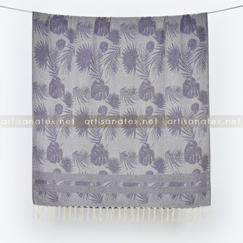fouta_leaves_violet_1_artisanatex