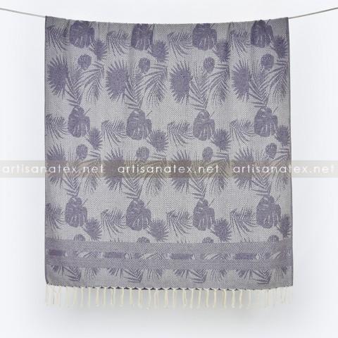 fouta_leaves_violet_1_artisanatex