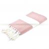 fouta_diamant_brickred_artisanatex_tunisia