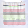 fouta_monaco_vertclairetnoir_ouverte_face1_artisanatex_tunisie