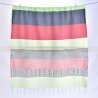 fouta_monaco_vertclairetnoir_ouverte_face2_artisanatex_tunisie