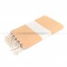 fouta_diamant_orange_artisanatex_tunisie