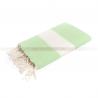 fouta_diamant_pistachio green_artisanatex_tunisia
