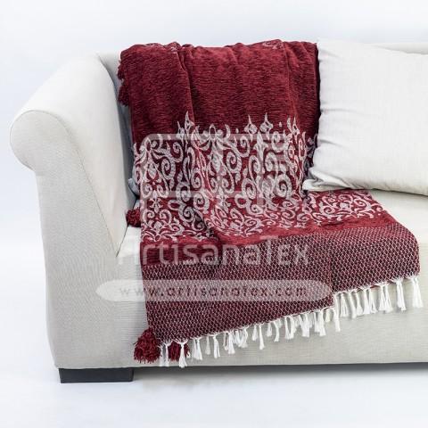 jete J1205 royale velours 3x2 rouge artisanatex
