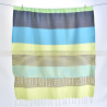 fouta_monaco_cyanetnoir_artisanatex_tunisie_ouverte_face1